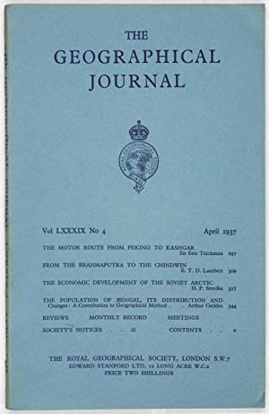 The Geographical Journal: Vol LXXXIX [89] No. 4.