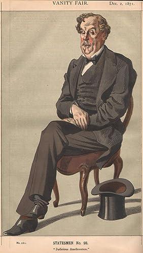 """No. 161. """"Judicious Amelioration"""". Statesmen. No. 98.: BAILLIE-COCHRANE, Alexander D.R.W...."""