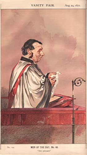 "No. 199. ""Nolo episcopari."" Men of the Day. No. 48. Clergyman.: VAUGHAN, Charles John, Rev."