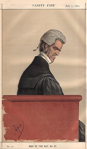 """No. 139. [""""La Reyne le veult""""]. Men of the Day, No. 27.: SHAW-LEFEVRE, John George, Sir."""