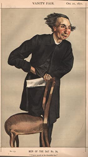 """No. 155. """"I have much to be thankful for"""". Men of the Day, No.34. Clergyman.: VOYSEY, The..."""