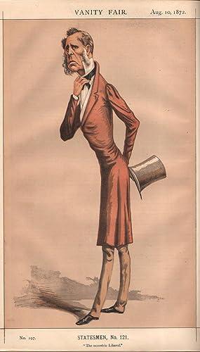 "No. 197. ""The eccentric Liberal."" Statesmen. No. 121.: HORSMAN, Edward, The Right Hon."