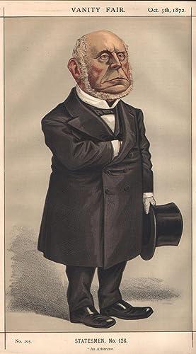 "No. 205. ""An Arbitrator."" Statesmen. No. 126.: ADAMS, Charles Francis, Mr."