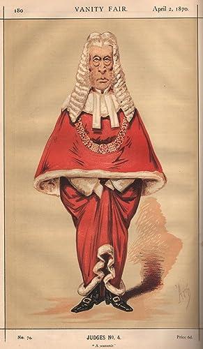 """No. 74. """"A Souvenir."""" Judges. No. 4.: POLLOCK, The Right Hon. Sir Frederick."""