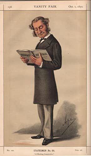 "No. 100. ""A Working Conservative."" Statesmen. No. 64.: MONTAGU, Robert, Lord."