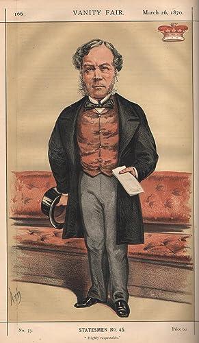 "No. 73. ""Highly respectable."" Statesmen. No. 45.: RICHMOND, The Duke of."