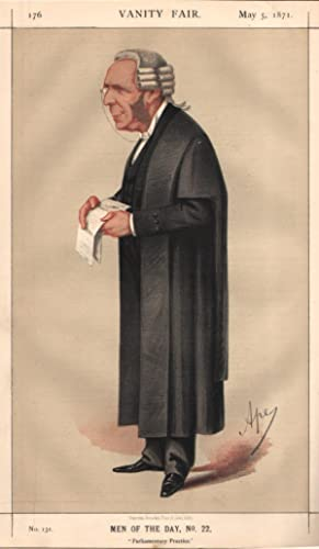 """No. 131. """"Parliamentary Practice"""". Men of the Day, No.22.: MAY, Sir Thomas Erskine, K.C.B..."""