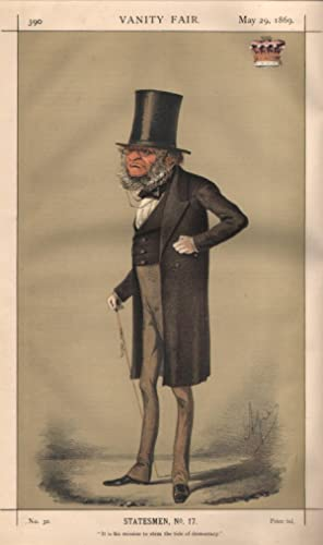 """No. 30. """"It is his mission to stem the tide of democracy."""" Statesmen. No. 17.: DERBY, ..."""