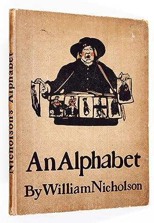 An Alphabet.: NICHOLSON, William.