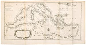 A Correct Chart of the Mediterranean Sea, from the Straits of Gibraltar to the Levant; .
