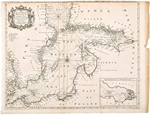 A Correct Chart of the Baltick or East Sea from ye Sound to Petersburg .
