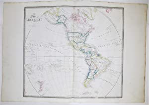 Map of America.: WYLD, James.
