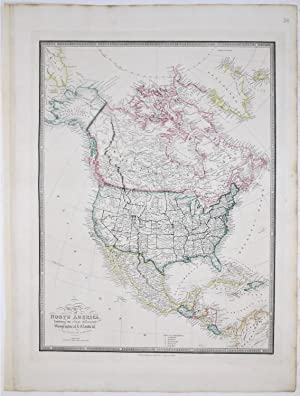 Map of North America exhibiting the latest: WYLD, James.