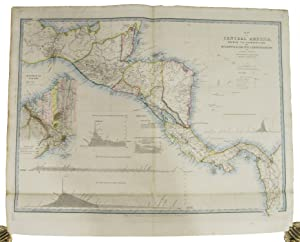 Map of Central America, shewing the different: WYLD, James