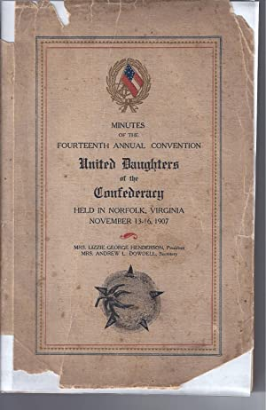 MINUTES OF THE FOURTEENTH ANNUAL CONVENTION: UNITED: Henderson, Lizzie George