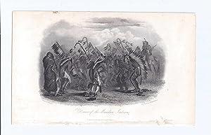 DANCE OF THE MANDAN INDIANS: Bodmer, C. (Karl)