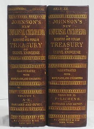 JOHNSON'S NEW UNIVERSAL CYCLOPEDIA: A Scientific and: Barnard, Frederick A.