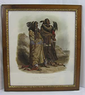 SIH-CHIDA & MAHCHSI-KAREHDE. Mandan Indianer: Indiens Mandans: Bodmer, Carl (Karl);