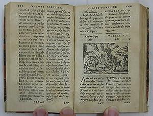 AESOPI PHRYGIS FABULAE, (Aesop's Fables.) elegan tissimis eiconibus veras animaliu species ad ...