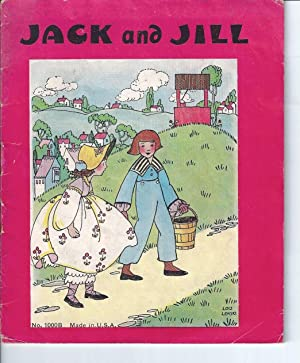 JACK AND JILL (And Other Poems): Lemski, Lois; Illustrated