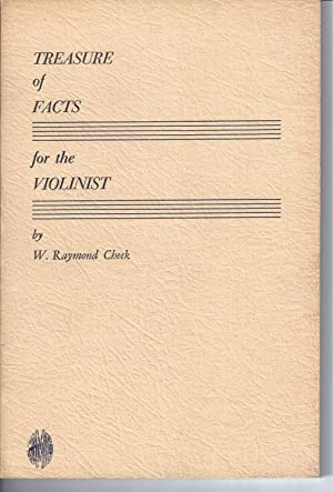 TREASURE OF FACTS: FOR THE VIOLINIST