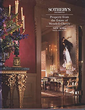 AUCTION CATALOG] SOTHEBY'S: PROPERTY FROM THE ESTATE: Sotheby's