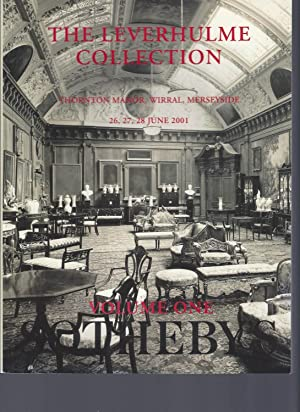 [AUCTION CATALOG] SOTHEBY'S: THE LEVERHULME COLLECTTION: THORNTON MANOR, WIRRAL, MERSEYSIDE: 26, ...
