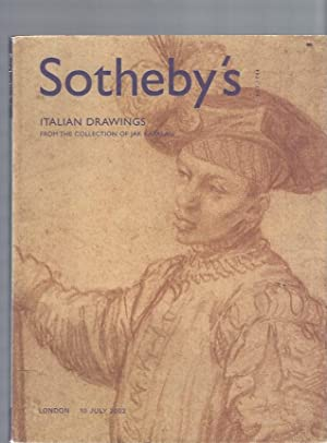 AUCTION CATALOG] SOTHEBY'S: ITALIAN DRAWINGS; From the: Sotheby's