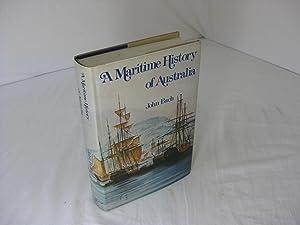 A MARITIME HISTORY OF AUSTRALIA: Bach, John