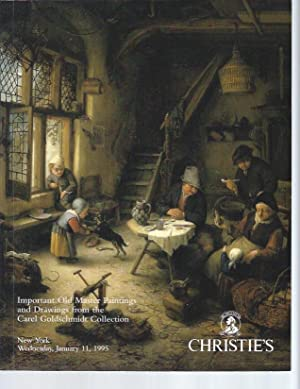 [AUCTION CATALOG] CHRISTIE'S: OLD MASTER PAINTINGS AND DRAWINGS From The Carel Goldschmidt Collec...