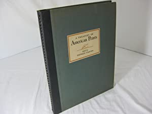 A TREASURY OF AMERICAN PRINTS: A Selection of One Hundred Etchings and Lithographs by the Foremos...