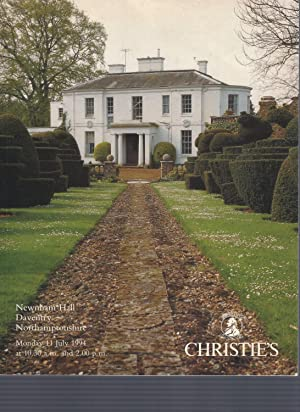 [AUCTION CATALOG] CHRISTIE'S: NEWNHAM HALL; Monday 11 July, 1994, Northhamptonshire