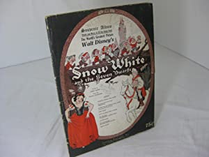 SNOW WHITE AND THE SEVEN DWARFS; Souvenir Album; Words and Music of All the Songs from the World'...