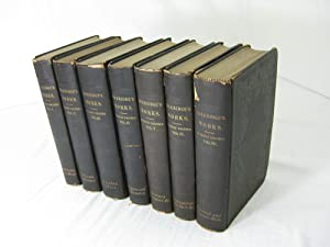 THE COMPLETE WORKS OF SAMUEL TAYLOR COLERIDGE. (7 volume set, complete) With An Introductory Essa...