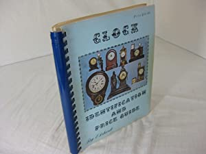 CLOCK IDENTIFICATION AND PRICE GUIDE: Book 1