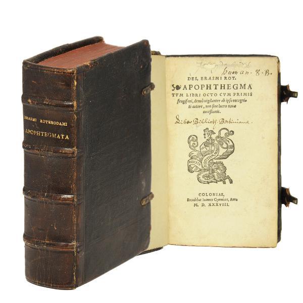Apophthegmatum libri octo cum primis frugiferi, denuo: Erasmus von Rotterdam,