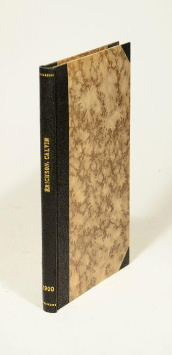 Bibliographia Calviniana. Catalogus chronologicus operum Calvini. Catalogus: Calvin, Johannes (Jean)].