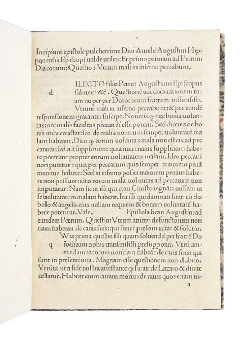 Epistolae pulcherrimae valde utiles. (Daran:) Bernardus Claravallensis.: Augustinus, Aurelius (Pseudo-).