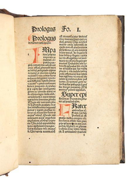 Mammotrectus super Bibliam.: Marchesinus, Johannes.