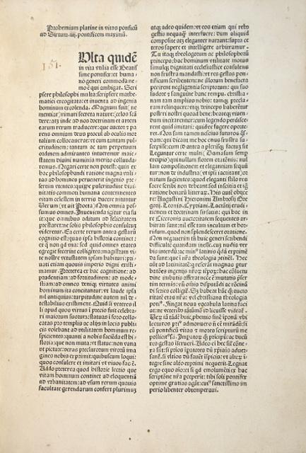 Liber de vita Christi ac pontificum omnium.: Platina, Bartholomaeus (eig.