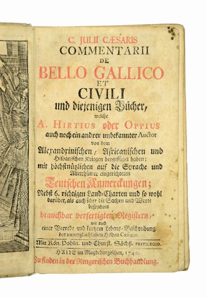 Commentarii De Bello Gallico Et Civili Und
