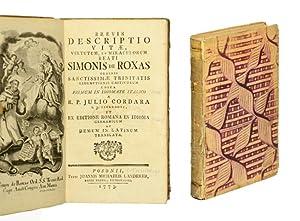 Brevis descriptio vitae, virtutum, et miraculorum beati: Simon de Rojas,