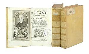 Rationarium temporum editio novissima, cui accesserunt, praeter: Petau, Denis (Dionysius