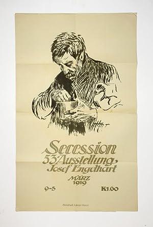 "Lithogr. illustr. Plakat. - ""Secession, 53. Ausstellung,: Secession]. - Engelhart,"