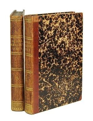 Schiller's Leben und Werke. 2 Bände.: Schiller, Friedrich von].