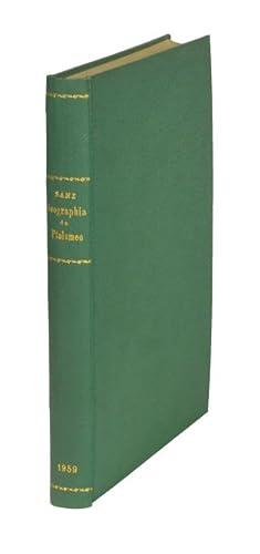 La Geographia de Ptolomeo. Ampliada con los: Ptolomaeus, Claudius]. -