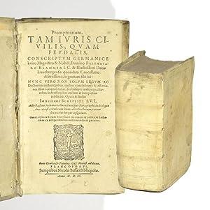 Promptuarium tam juris civilis, quam feudalis, conscriptum: Klammer, Balthasar.