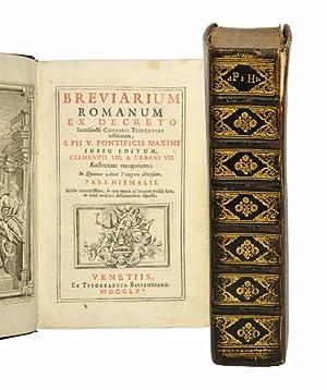 Breviarium Romanum ex decreto sacrosancti Concilii Tridentini: Breviarium Romanum].