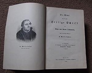 Die Bibel Ober Die Ganze Heilige Schrift Des Alten Und Neuen Testaments, Nach Der Deutschen ...