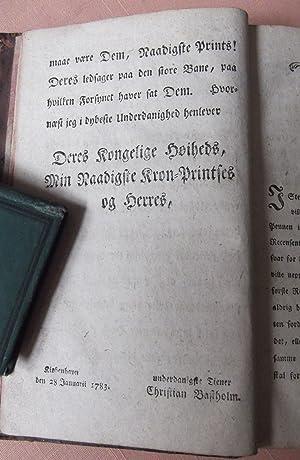 Den Christelige Religions Hoved-Laerdomme til almindelig Opbyggeise: Bastholm, Christian